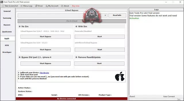 GSM Tool Crack V4.0 Download Free by Pir Muhammad Akash