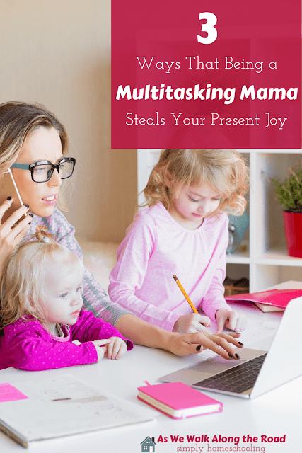 Dangers of multitasking
