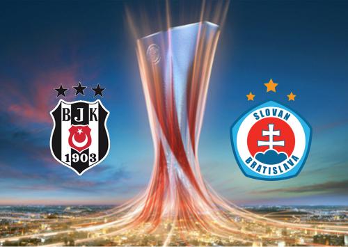 Beşiktaş vs Slovan Bratislava -Highlights 28 November 2019
