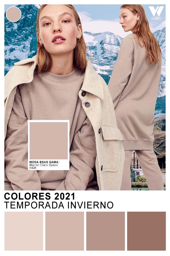Tendencia colores invierno 2021