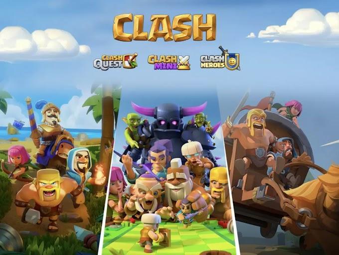 Begini Gameplay dari 3 Game 'Clash' Baru Supercell