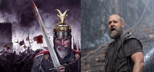 Russell Crowe and Scanderbeg