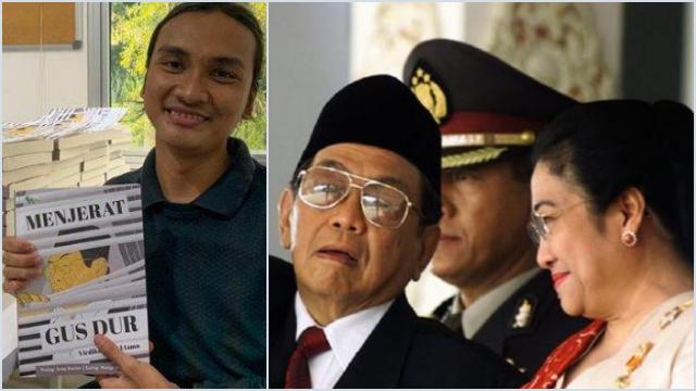 Penulis Buku 'Menjerat Gus Dur': Ada Kelompok di PDIP yang Ingin Mega Jatuhkan Gus Dur