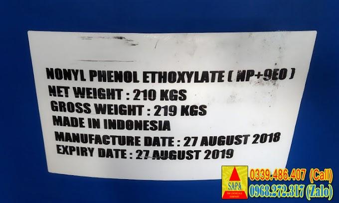 DUNG MÔI NONYL PHENOL ETHOXYLATE (NP+9EO)