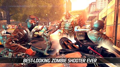 game ini sangat seru, kita harus kalahkan para zombie dengan senjata kita
