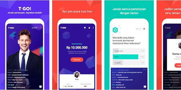 T-GO : Cara Mendapatkan Uang Gratis 100 Juta Rupiah dari Aplikasi T-GO Android