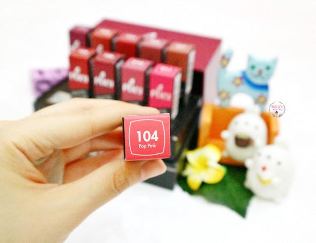 PIXY Matte in Love Lipstick packaging