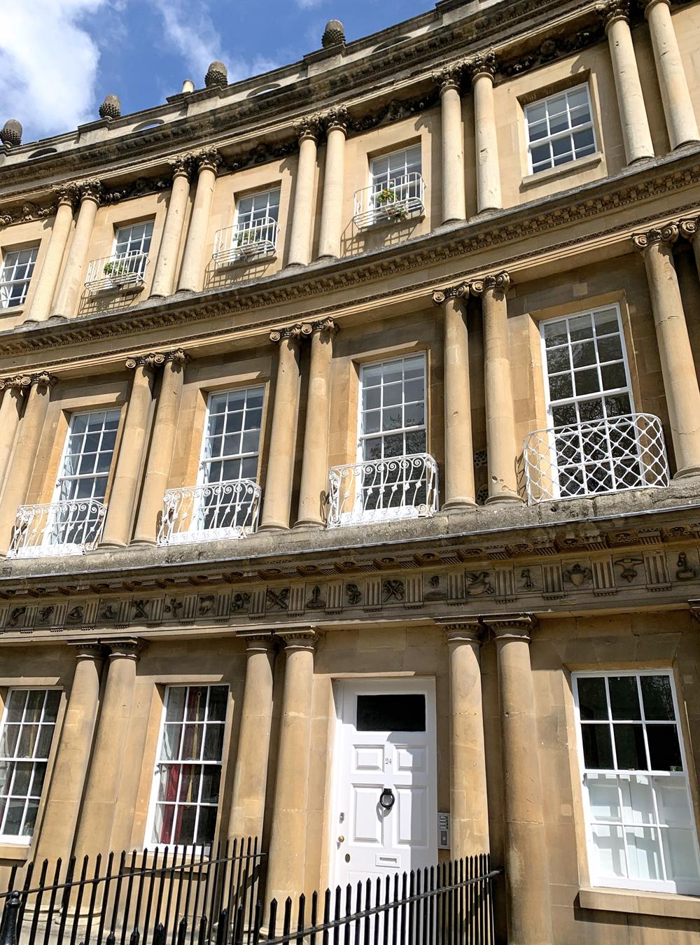 Bath Georgian architecture - Emma Louise Layla, UK travel & lifestyle blog