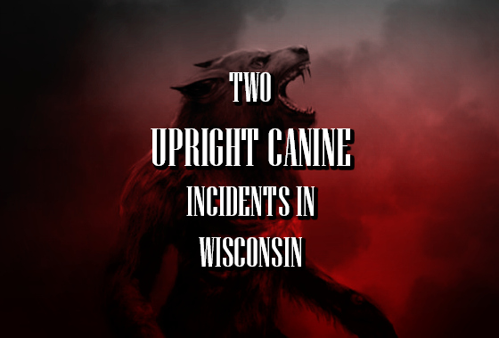 Two Upright Canine Incidents in Wisconsin
