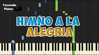 himno de la alegria - ode to joy piano