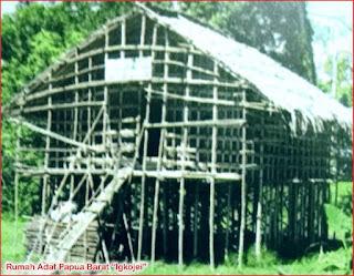 Gambar-Rumah-Adat-Papua-Barat