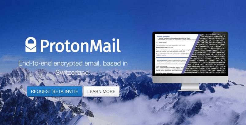 ProtonMail - dịch vụ mail end-to-end encrypted