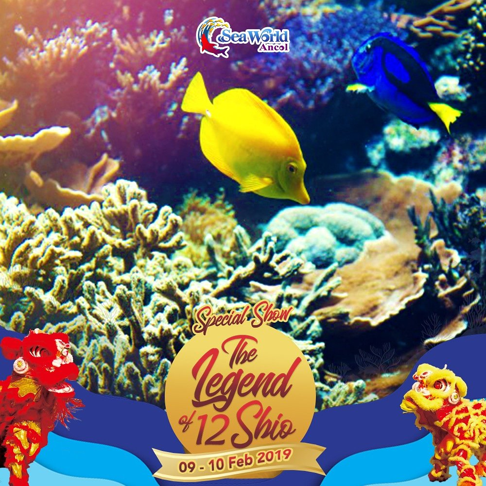 #Seaworld - #Promo Event Special Show The Legend of 12 Ship (09 - 10 Feb 2019)
