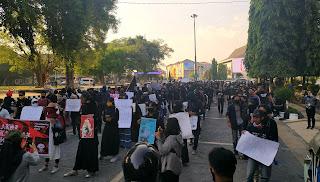 Aksi Rakyat Seruan Tolak Omnibus Law