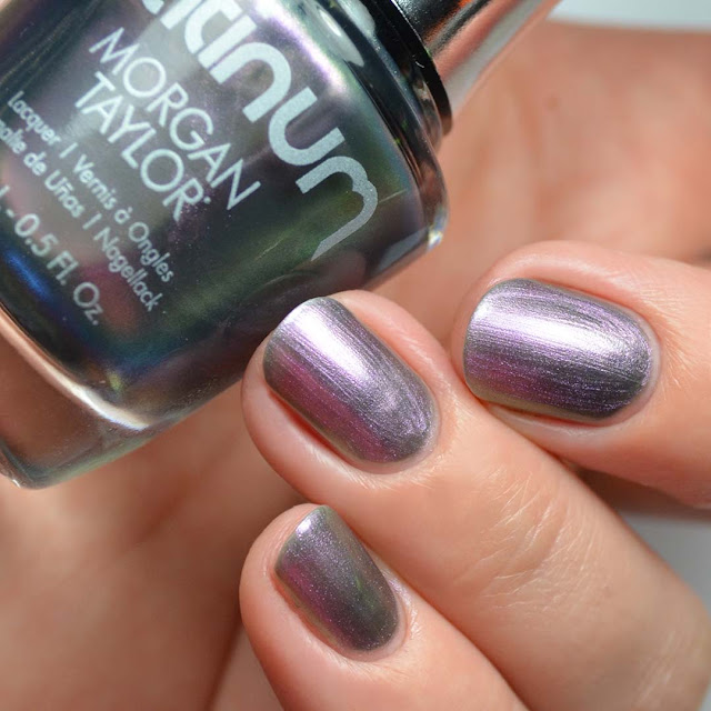 silver duo chrome nail polish