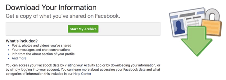 facebook privacy data 3 - How to find out what Facebook knows about You?