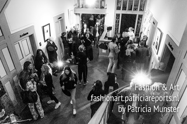 Fashion Crowed at Entrance MoCo Museum