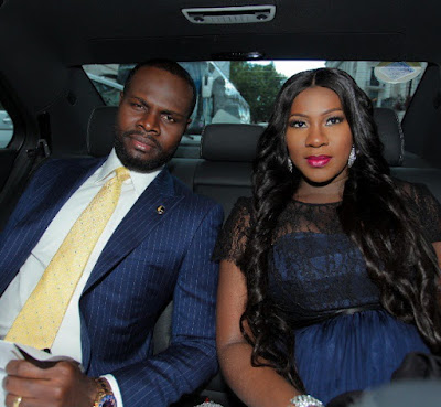 Image result for stephanie okereke and husband