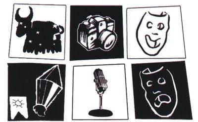 Ilustração com símbolos do folclore pernambucano