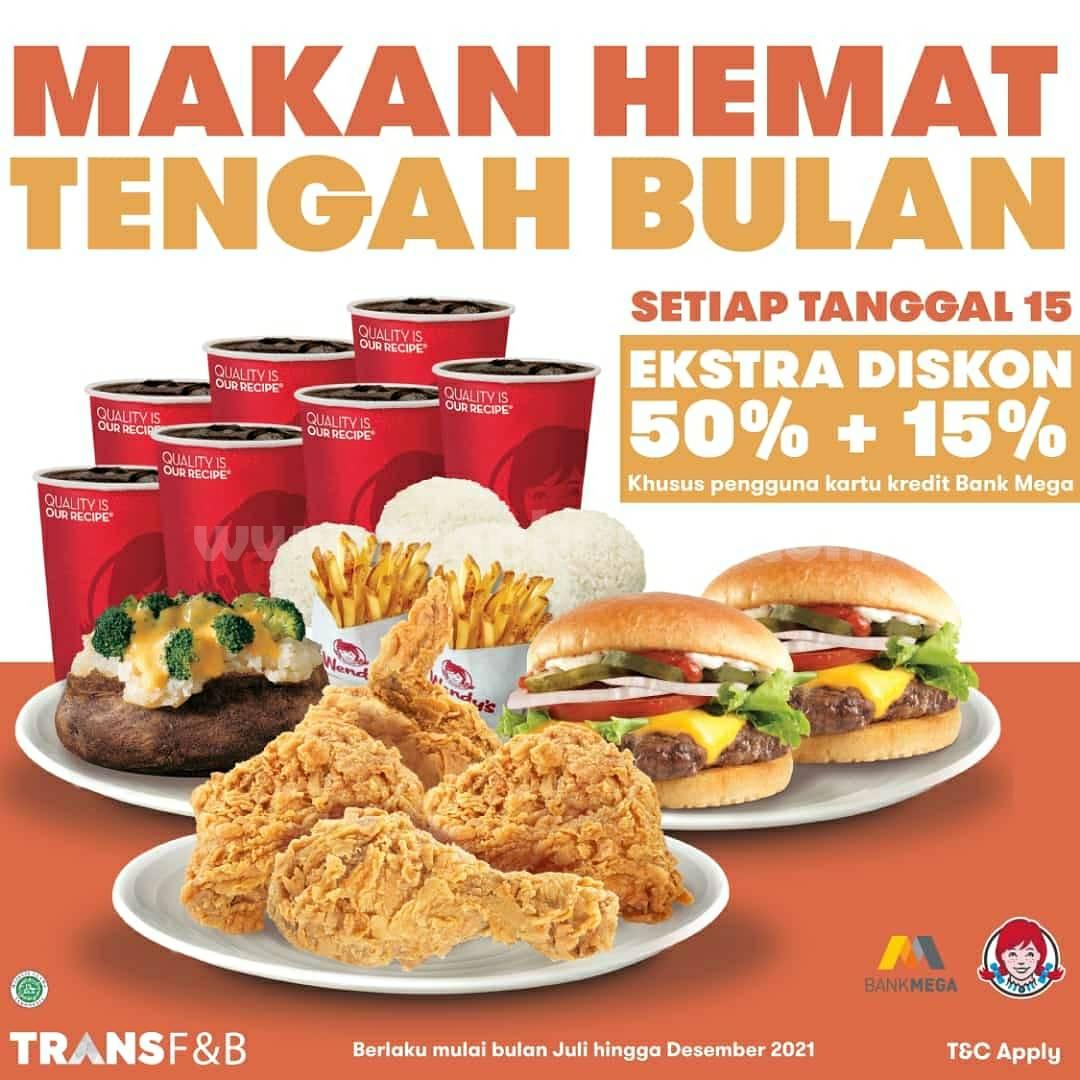 Wendy's Promo Makan Hemat Tengah Bulan (Setiap Tanggal 15)