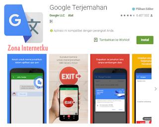 Google Terjemahan (Google Translate)