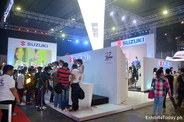 Suzuki Philippines Trade Show Display
