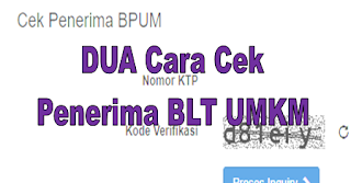 Cara Cek Penerima BLT UMKM BRI di eform.bri.co.id/bpum terbaru 2021