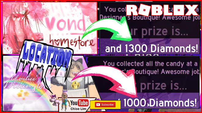 Roblox Royale High Halloween Event Gameplay! 2 Homestores - Vond and KIOUHEIS Homestore for Diamonds! Candy Locations!