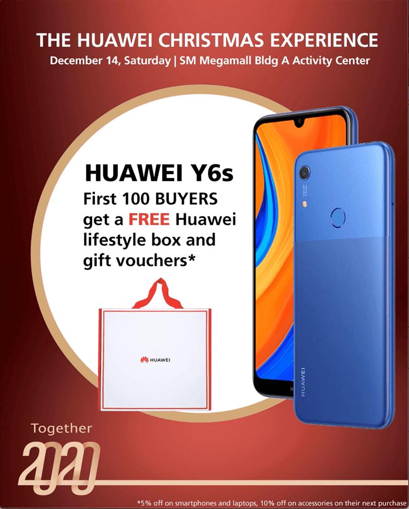 Huawei Y6S deal