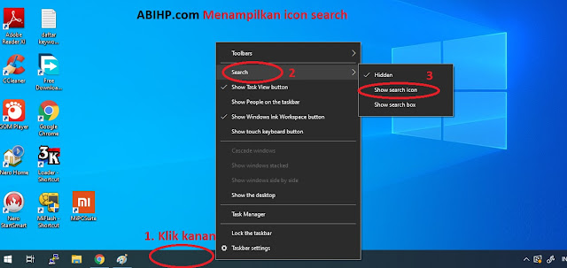 Menampilkan Icon Search