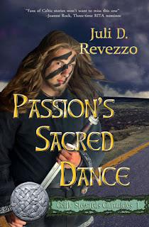 Passion's Sacred Dance by Juli D. Revezzo, paranormal pagan fiction, paranormal pagan romance fiction