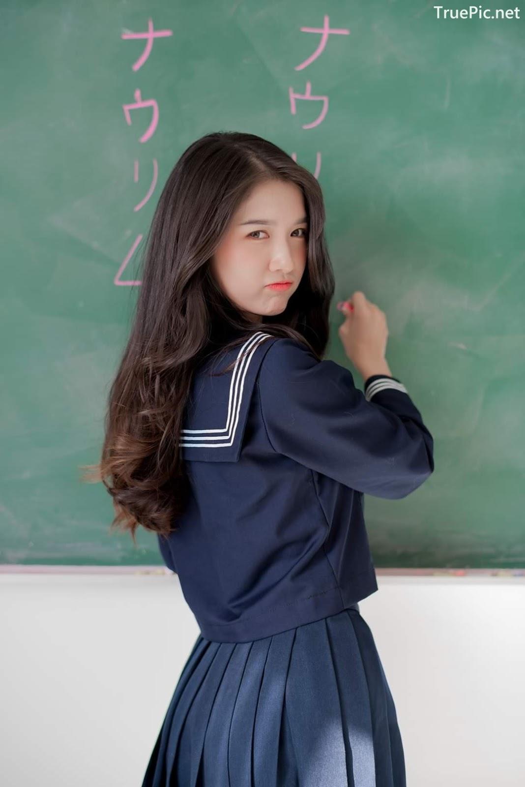 Image Thailand Cute Model - Yatawee Limsiripothong - Missing School - TruePic.net - Picture-1