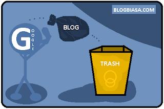 Resiko, efek buruk, Dampak negatif akibat copas (copy paste) artikel blog milik orang lain