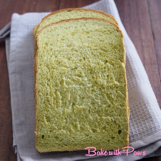 Vegan Pandan Bread