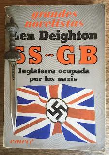 Portada del libro SS-GB, de Len Deighton
