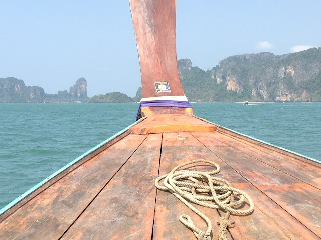 Longtail boat ferry to Railay East