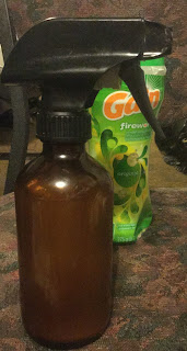 homemade air freshener, making Febreze at home, Homemade lysol, how to freshen your house cheaply, frugal living tips,