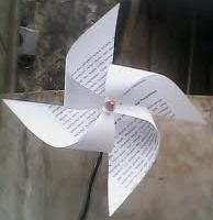 anggi25: Cara membuat Kincir Angin Dari kertas