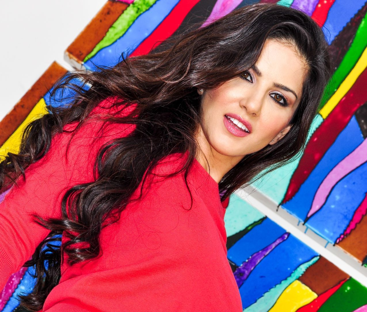 Sunny Leone Hot Red Dress Wallpapers & Pics of Porn Bollywood ...