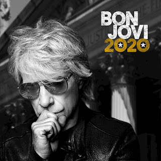 Bon Jovi 2020 album cover featuring a photo of Jon wearing sunglasses