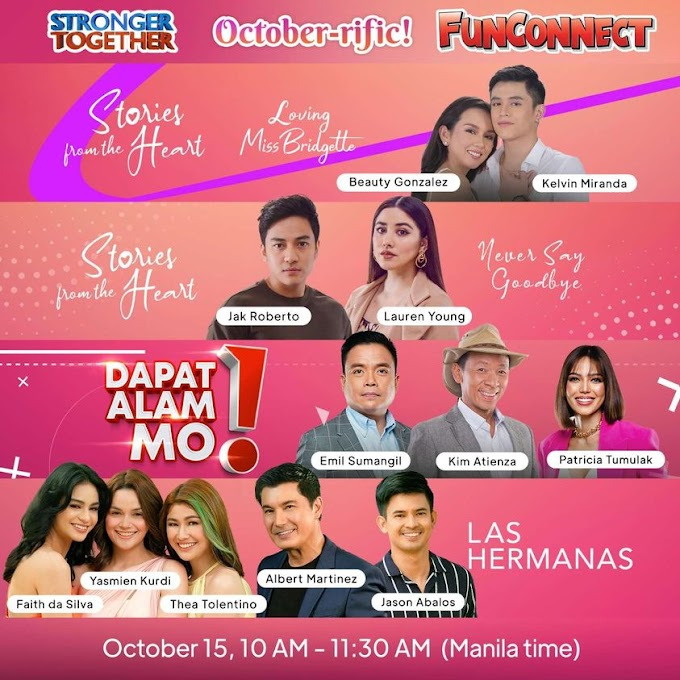 GMA Pinoy TV's Star-Studded FunCon Happening this October 15