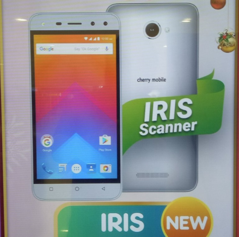 Cherry Mobile Iris; Quad Core Android M with Iris Scanner for Php3,499