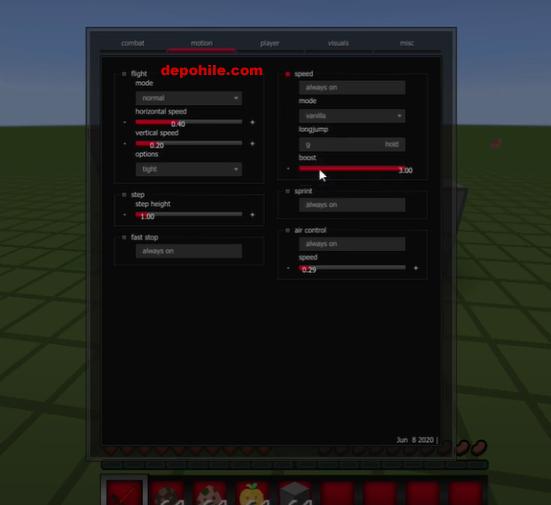 Minecraft Crypt Makro v1 Aimbot, Reach Hilesi İndir Mart 2021