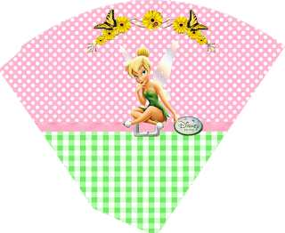 Tinker Bell Free Printable Cones.