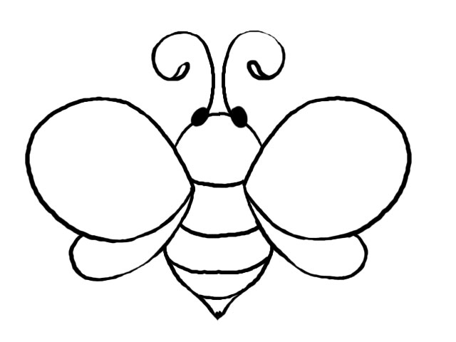 Newby Template on Honey Bee Body Parts Diagram