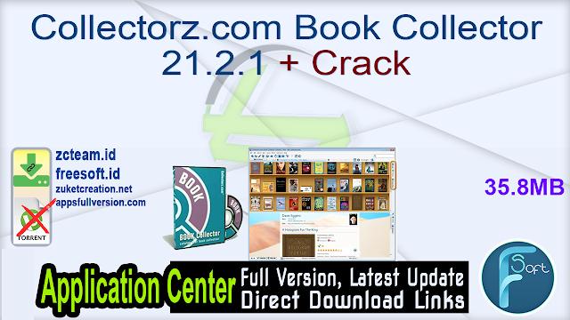 Collectorz.com Book Collector 21.2.1 + Crack_ ZcTeam.id