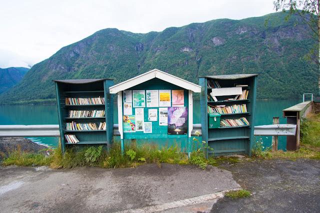 Fjaerland-La cittadina delle librerie