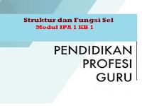 Struktur dan Fungsi Sel - Modul IPA 1 KB 1