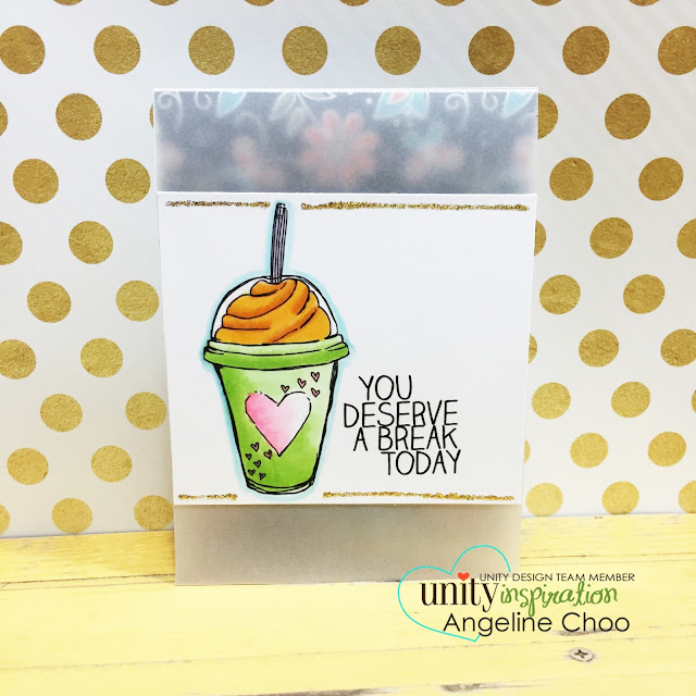 ScrappyScrappy: See Through card #scrappyscrappy #unitystampco #youtube #video #quicktipvideo #card #cardmaking #copic #stamp #stamping #vellum #seethroughcard