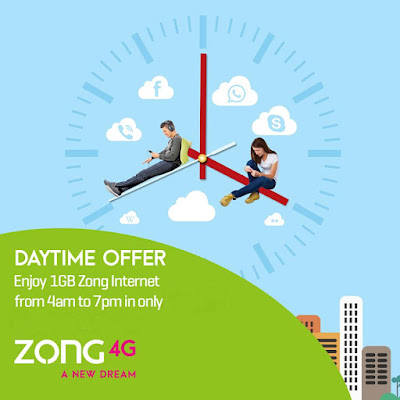 day time offer zong